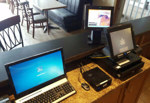 Touch Screen Ordering System w Back Office Computer