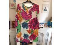 New Beautiful colourful Zara tunic size M-L