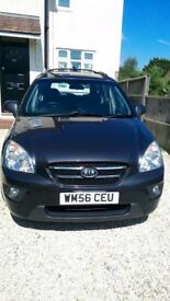 Kia Carens GS 2L 2007 diesel low mileage 65,000 km 12 months MOT. 7 seater. Quick sale?