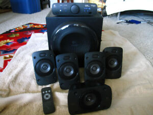 Logitech Computer/ Video Game Surround Stereo