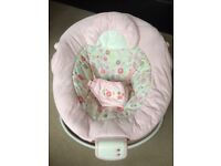 Bright starts pink bouncer