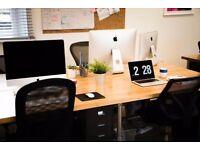 DESK SPACE to rent | Finnieston - THE HIDDEN LANE | Creative Studio / Office