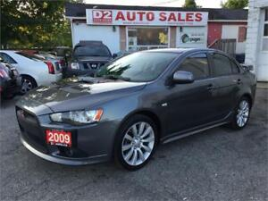 2009 Mitsubishi Lancer RalliArt/Turbo/Clean Carproof/Certified