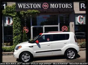 2010 Kia Soul 2u *AUTO *FULLY EQUIPPED *BLUETOOTH *HEATED SEATS!