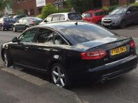 Audi A6 S-Line 2.0 Diesel Special Edition *Top Spec* Heated-Leather-seats Sat-Nav Bluetooth, PCO