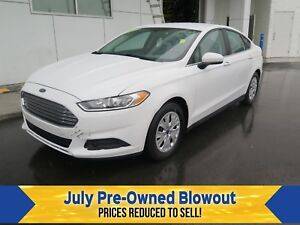 2013 Ford Fusion S Sync Voice Activated.
