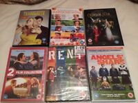 Bulk lot of new and used DVDs