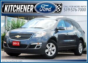 2013 Chevrolet Traverse 1LT CAMERA/PWR GROUP/7 PASSENGERS!