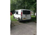 Non runner. Good looking van privacy glass all round, chrome side rails 5 seats and fully lined.