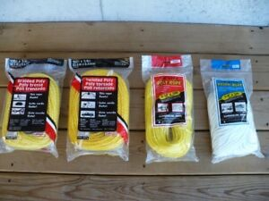 Brand New Ropes, 100 Ft Long -- all for $15.00