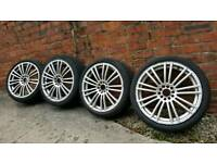 Multifit 18 inch alloys.