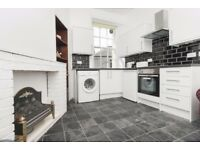 Contemporary 1 bedroom 1st floor flat in Causewayside with open lounge/kitchen available October