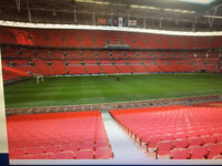 FOUR WEMBLEY TICKETS FOR THE RUGBY LEAGUE CHALLENGE CUP FINAL 2017