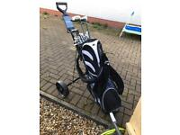 £175 Full set of Wilson golf clubs. Plus extras