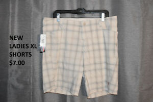 New and EUC Ladies Size 18 Skorts/Shorts/Pants