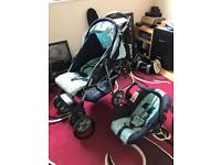Mothercare Pram and Car Seat