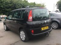 7/8 seater,renault espace, diesel,faultless,low miles,perfect family car, px welcom NEGOTIABLE PRICE
