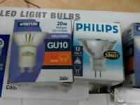 Light bulbs halogen