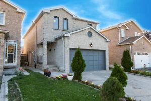 Detached 4 Bedroom House For Rent: Steeles+McLaughlin, Brampton