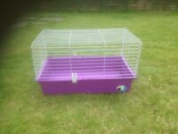 Guinea Pig/Small Rabbit Outdoor Run & Indoor Cage