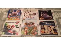 Various Nintendo 3ds games - see description for prices