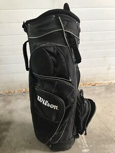 Wilson Golf Bag with Pull Hand cart