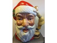 Royal Doulton Santa Jug - doll & drum handle