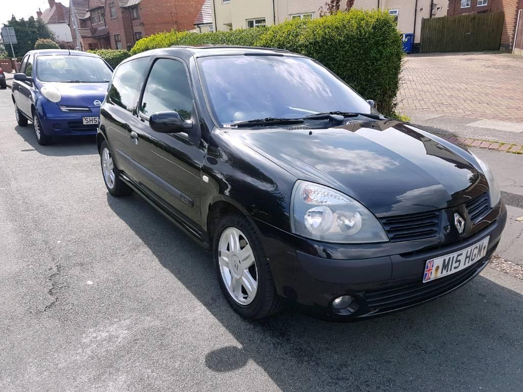 Renault clio 1.5 dci £30 road tax