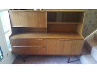 Teak Retro Bureau / Cabinet, Mid Century Design,1960s 1970s Sutcliffe S Form