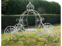 Cinderella Coach - PERFECT FOR WEDDING display PARTIES ETC Delivery Available