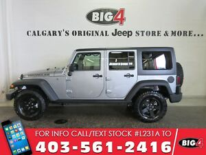2017 Jeep Wrangler 4dr Big Bear, NAV, Alpine speaker, tow pkg
