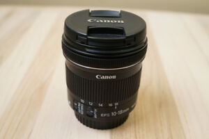 Canon-EF-S 10-18 mm  Wide Angle zoom STM