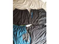 3 pairs of Nike Dry-fit sports shorts and 1 dry-fit sports top all size large £20 ono