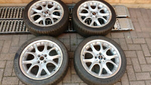 "Mini Cooper ""S"" wheels and tyres"