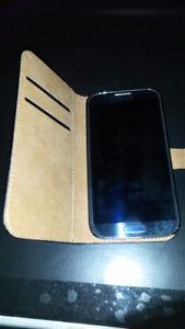 Samsung Galaxy S4 Model:SGH-I337M/16GB New Leather Case.