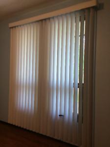 Set of 2 Vertical Blinds