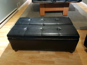 Ottoman with fold out single bed