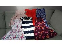 girls dresses size 7-8 and 8-9