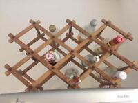 Folding wine rack for sale