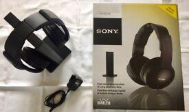 SONY MDR-RF865RK HEADPHONES - REDUCED PRICE