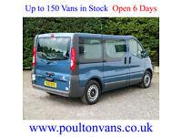2013 (63) VAUXHALL VIVARO 2900 SWB 5 SEAT WHEELCHAIR ACCESS MINIBUS 90BHP,Medium