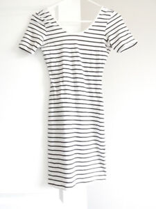STRIPED BODYCON DRESS $10