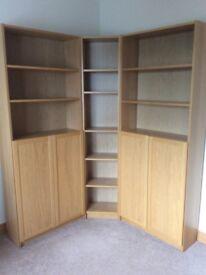 Ikea Malm Bookcases