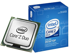 Intel Core 2 Processor and motherboard