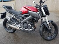 Yamaha mt125cc abs is very clen very good condition