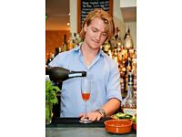 Full/Part time Bar & Waiting staff for Vibrant & Exciting Food Pub in SW6 £great benefits & rewards