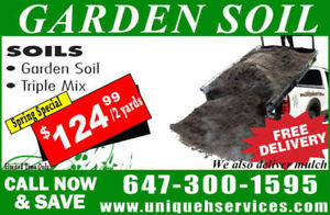 Garden Soil/Triple Mix for Sale (FREE DELIVERY-$125 FOR 2 YARDS)