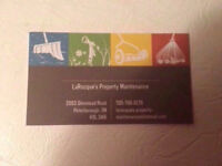 LaRocque's Property Maintenance- Lawn Cutting Services & More