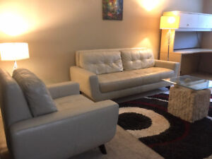 AVAIL NOW 1-bedroom FURNISHED condo in St. Boniface!