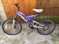 Kids bike working but needs some parts